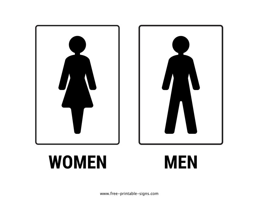 Printable Toilet Sign Free Printable Signs